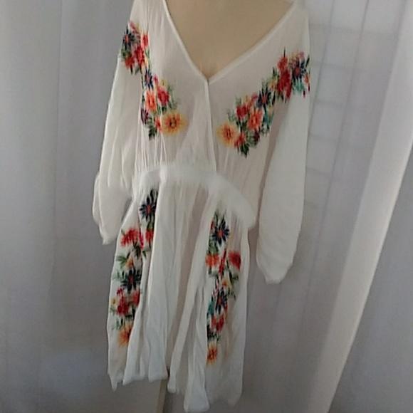 Forever 21 Dresses & Skirts - White Gauze dress